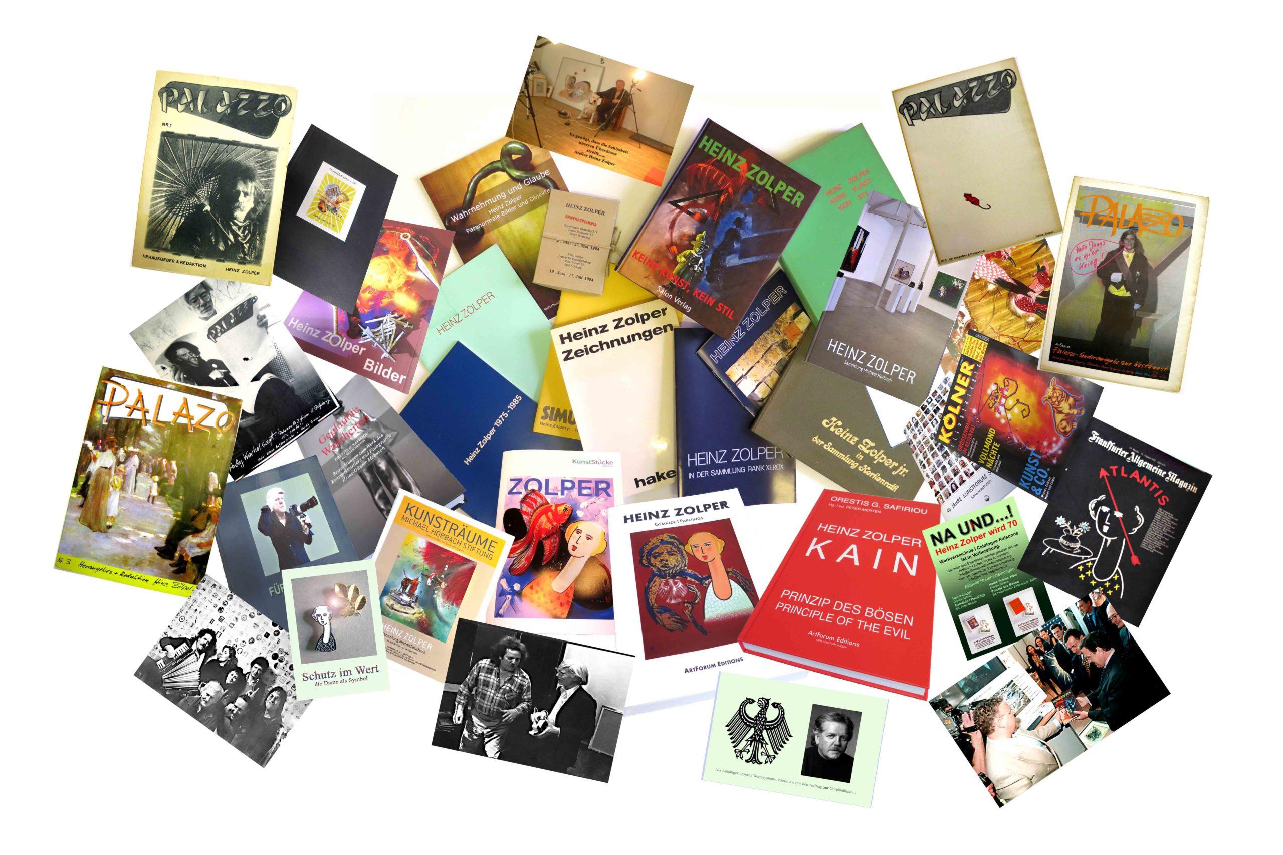 ZOLPER - Vita. Literaturauswahl >Artforum Zolper Archiv