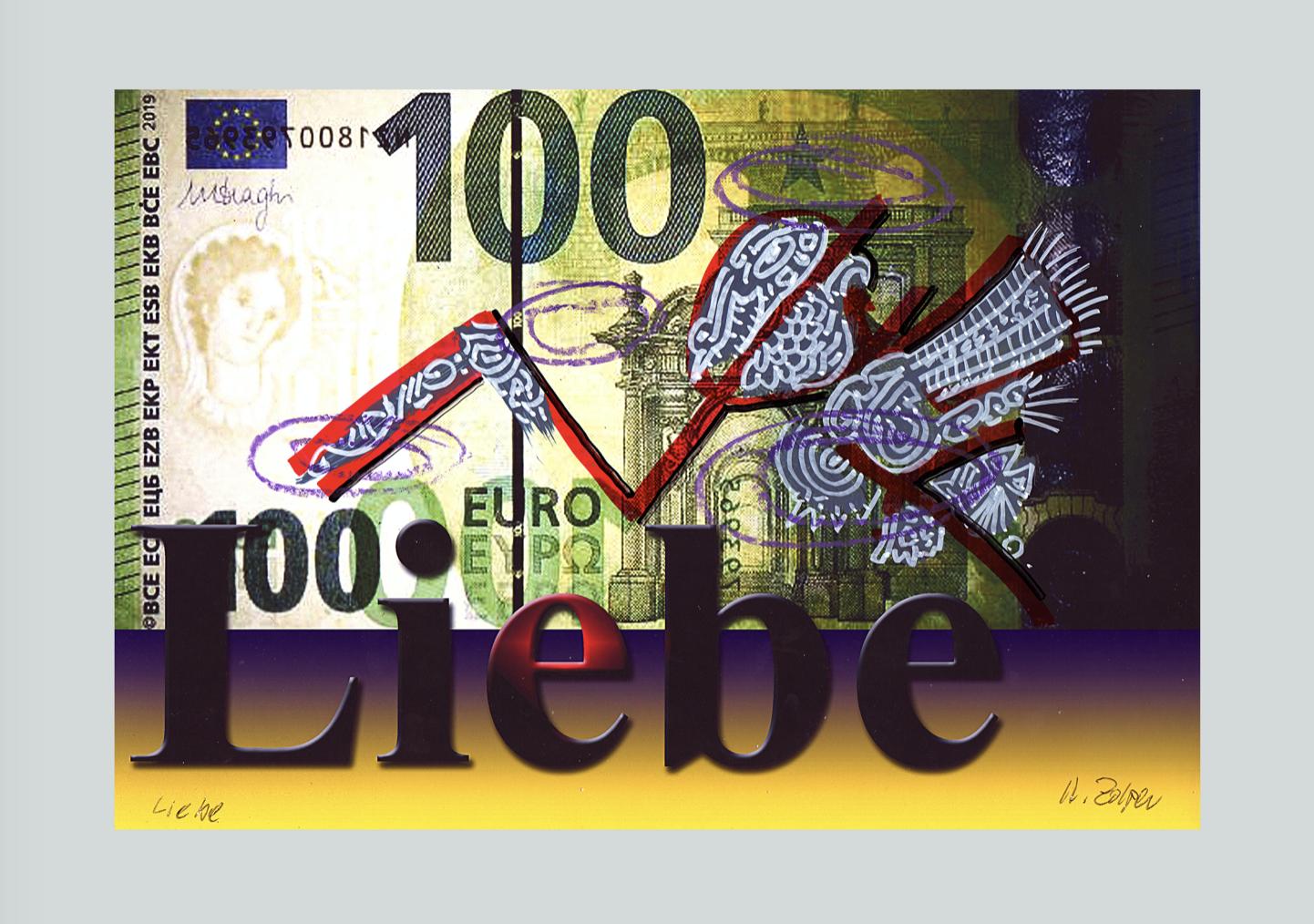 Zolper. Versöhnung der Werte, Liebe. ArtForum Editions
